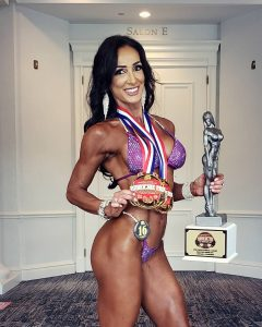 Meri Abbado Croatian bodybuilder