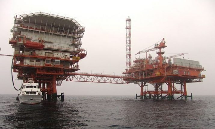 INA gas platform goes missing in the northern Adriatic