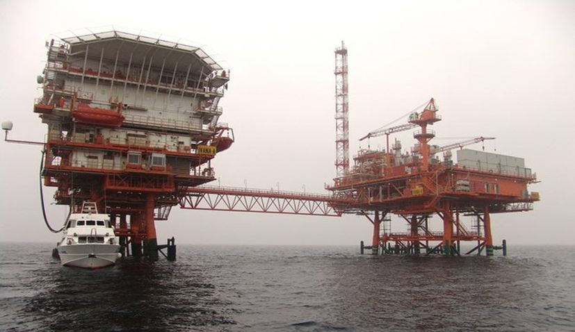 INA's gas platform disappeared in the Adriatic