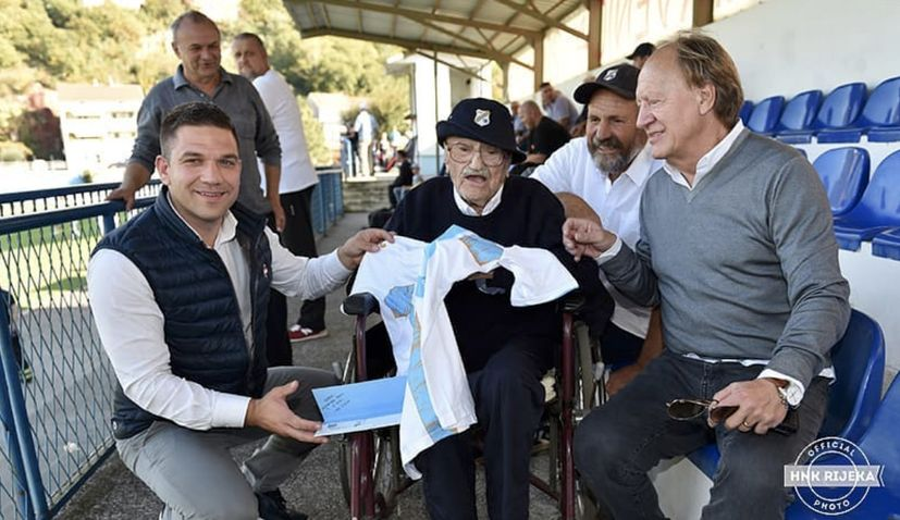 Croatia's oldest person Josip Kršul celebrates 109th birthday today