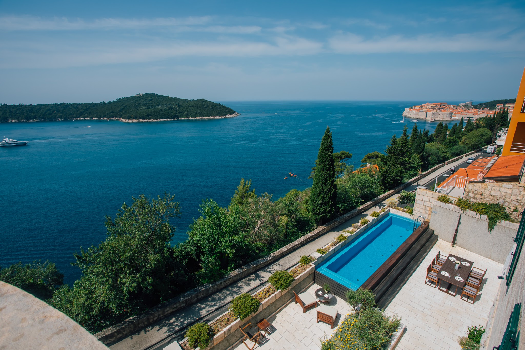 Luxury villa Paulina in Dubrovnik City Cente
