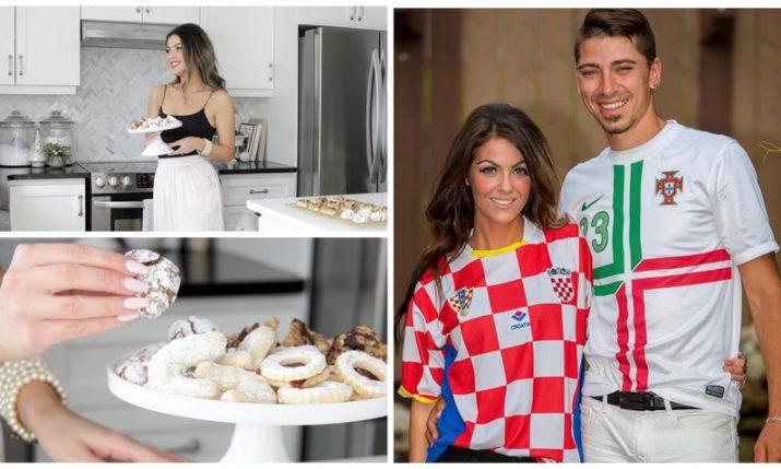 Popular Canadian-Croatian home decor influencer opens her home for Christmas