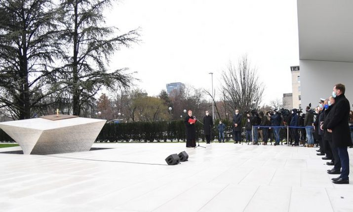 Monument to Homeland officially unveiled in Zagreb