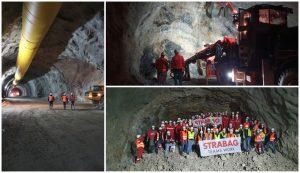 debeli brijeg Peljesac Bridge getting closer: Breakthrough of longest tunnel completed 74 days ahead of time