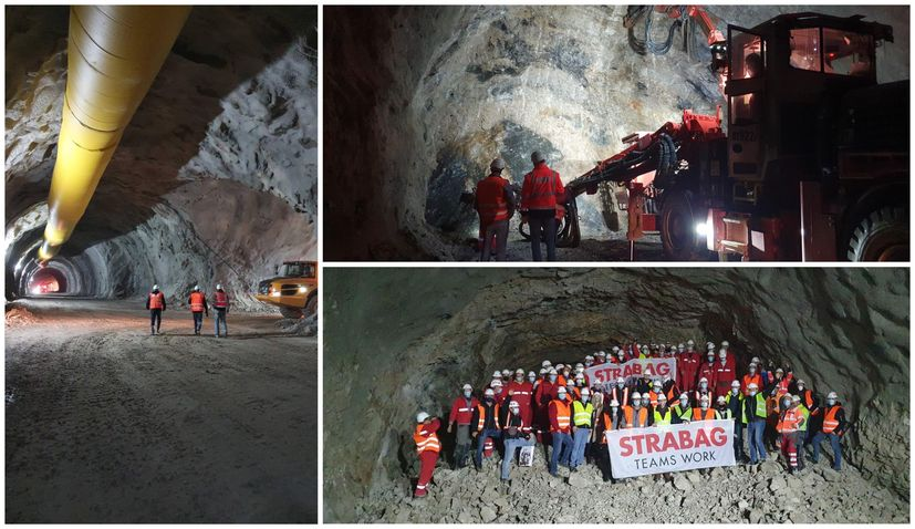 Peljesac Bridge getting closer: Breakthrough of longest tunnel completed 74 days ahead of time