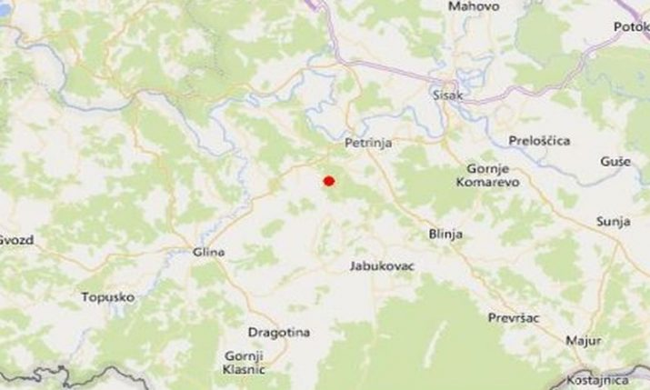 Strong aftershocks rock Petrinja, Zagreb, Sisak