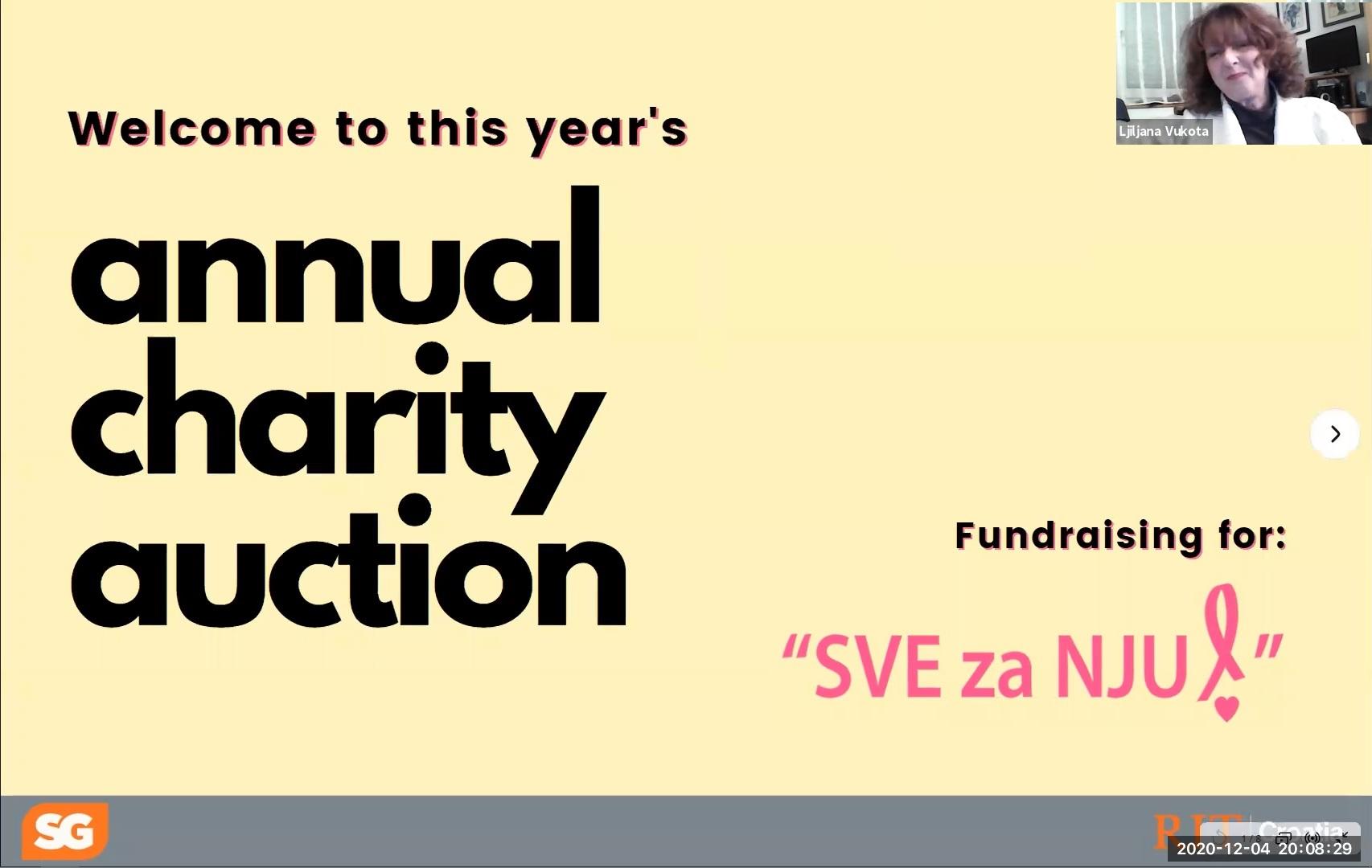 RIT Croatia students raise more than HRK 22,000 for SVE za NJU association