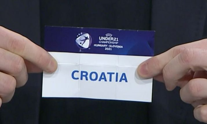 Under-21 EURO: Croatia draw England, Portugal and Switzerland