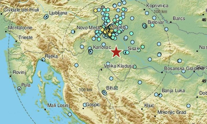 Strong quake rocks Zagreb