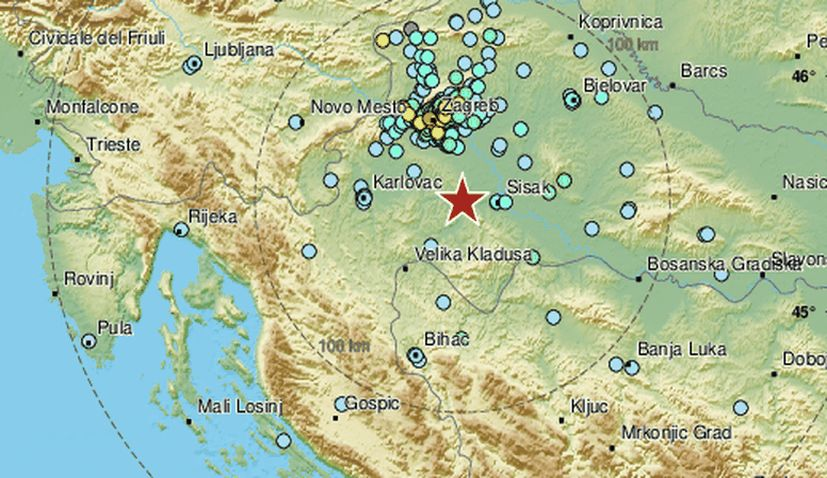 Strong Quake Rocks Zagreb Croatia Week