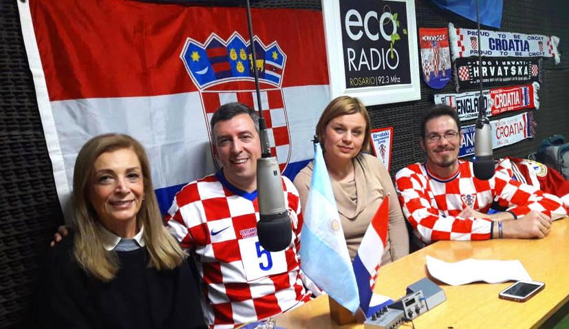 Croatian radio show 'Bar Croata' in Argentina celebrates 15 years
