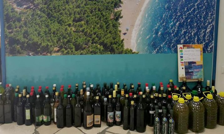 Brač growers gift 1,500 litres of olive oil to medical workers across Croatia