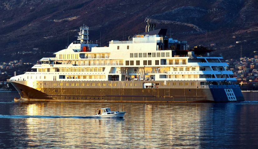 PHOTOS: Croatian shipyard completes €106 million polar cruiser during pandemic
