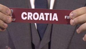 croatia draw world cup 2022