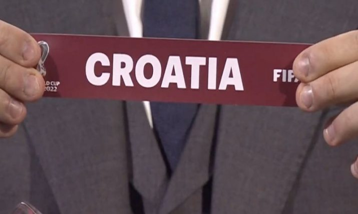 2022 World Cup qualifying draw: Croatia to face Russia, Slovakia, Slovenia