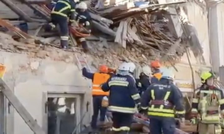 Croatia earthquake: Evacuation and clean up starts