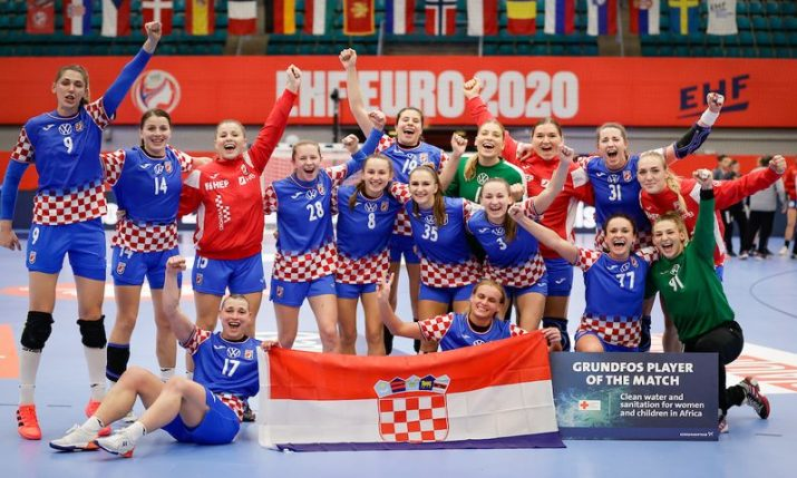 2020 Women's Handball Euro: Croatia wins bronze medal