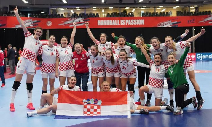 2020 Women's Handball Euro: Croatia beats Germany to reach semifinal