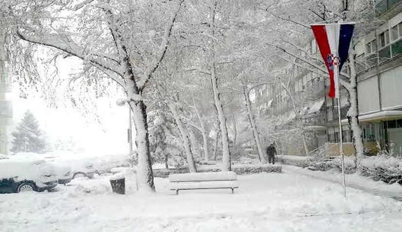 White Christmas in Croatia? Here are the chances