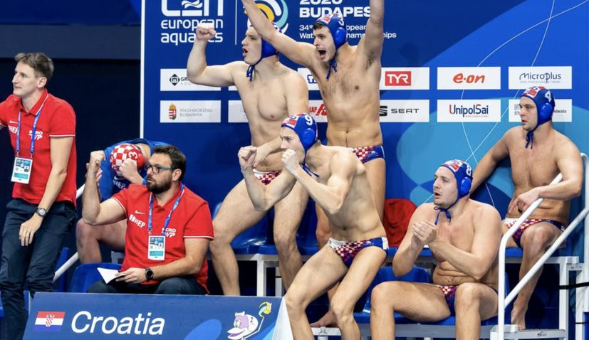 Croatian water polo team gather ahead of Olympic qualifiers