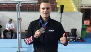 croatian gynmasits Filip Ude, Aurel Benovic win silver medals at European gymnastics championships