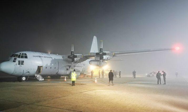 Greece sends humanitarian aid to Croatia
