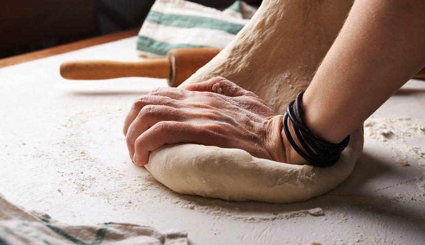 making bread croatia