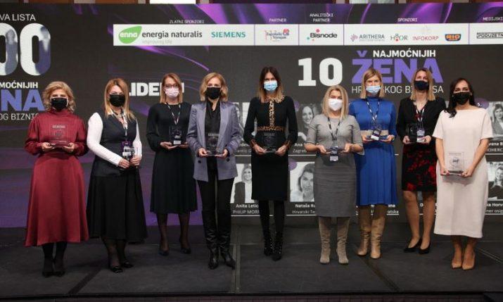 10 most powerful businesswomen in Croatia named