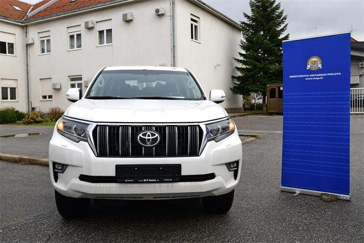 Germany donates vehicles for Croatian border police worth €835K