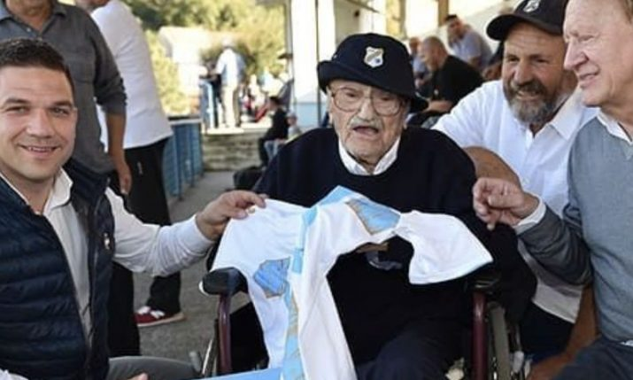 Croatia's oldest person Josip Kršul turns 109