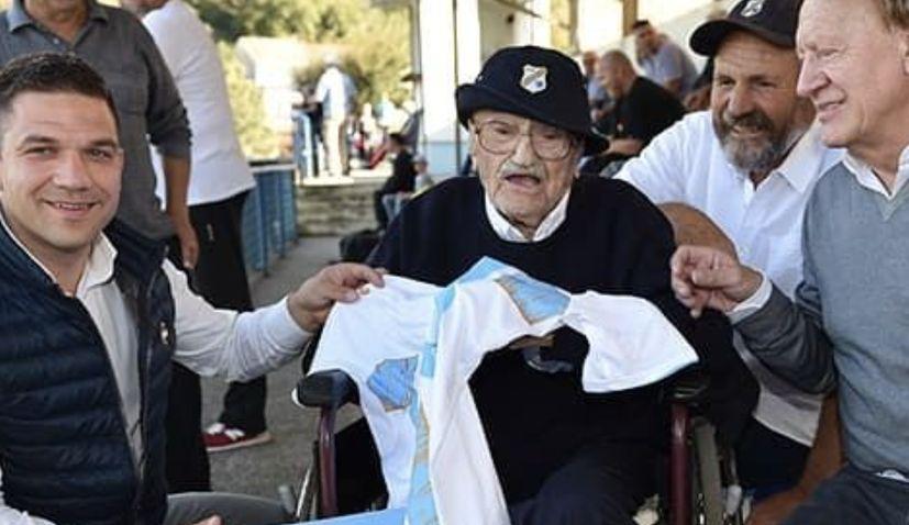 Croatia's oldest person Josip Kršul turns 109