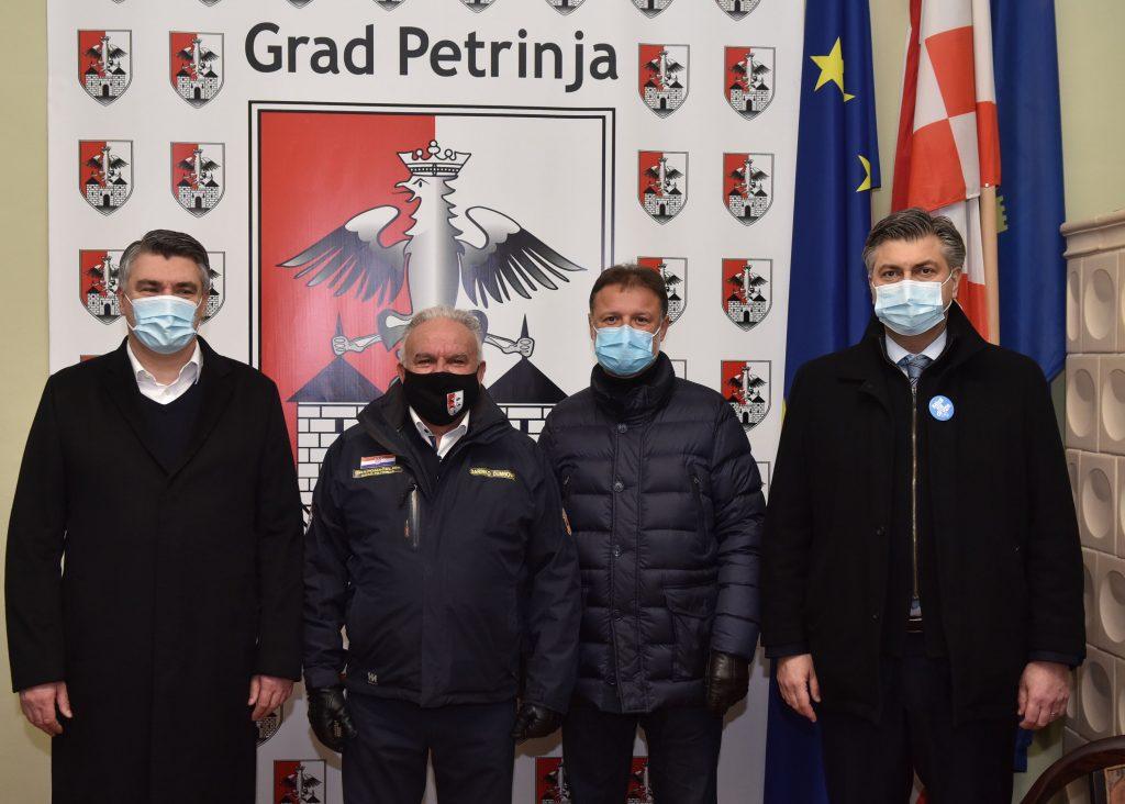President croatia earthquake
