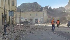 earthquake rocks croatia