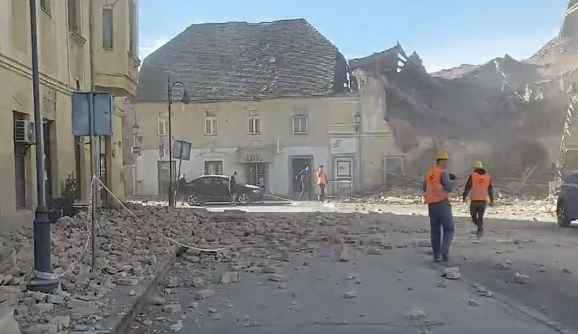 earthquake rocks croatia