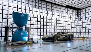 Rimac C_Two put through its paces with ElectroMagnetic Compatibility testing