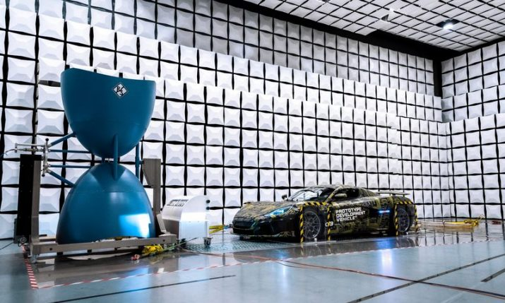 VIDEO: Rimac C_Two put through its paces with ElectroMagnetic Compatibility testing