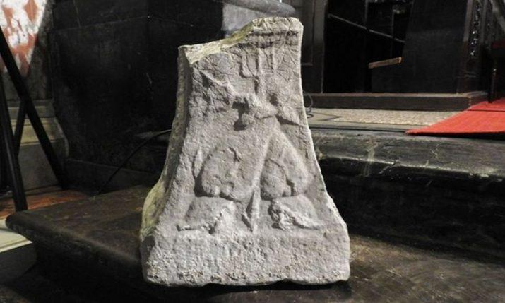 PHOTO: Stone from antiquity period found in a church in Rijeka