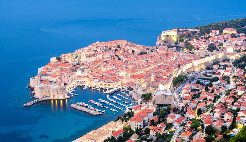 tourists in croatia