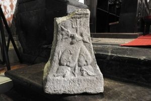 Stone from the antiquity period found in a church in Rijeka