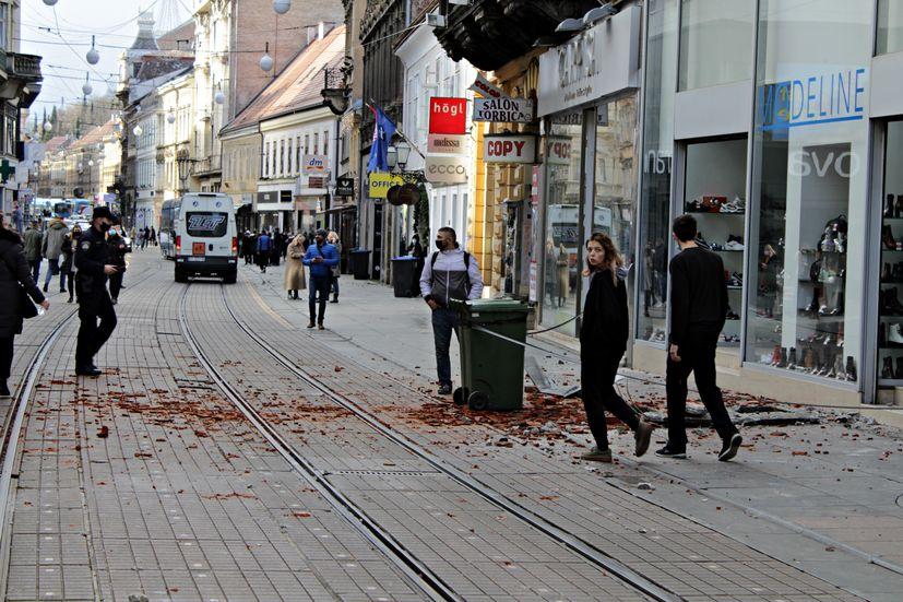 Croatia Earthquake Buildings In Zagreb Damaged No Casualties Reported Croatia Week