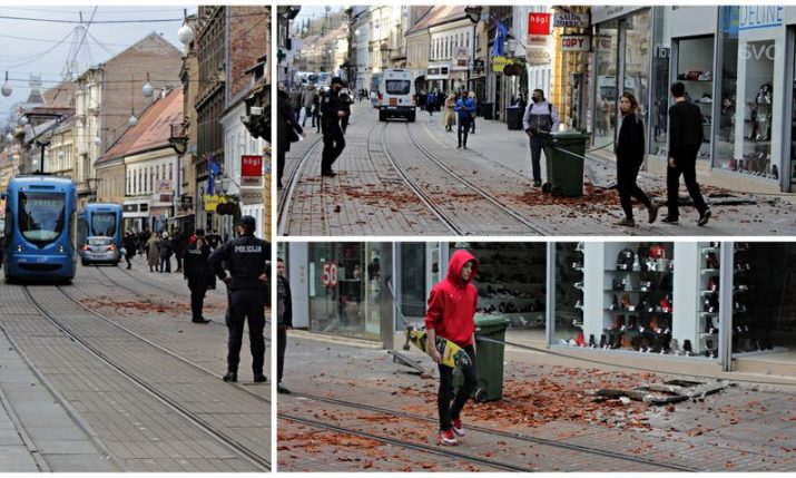 Croatia earthquake: Buildings in Zagreb damaged, no casualties reported
