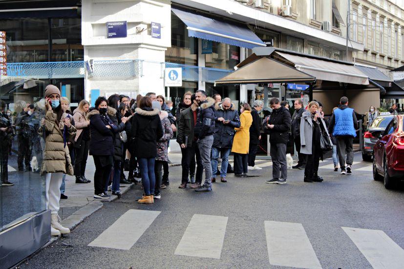 zagreb earthquake croatia