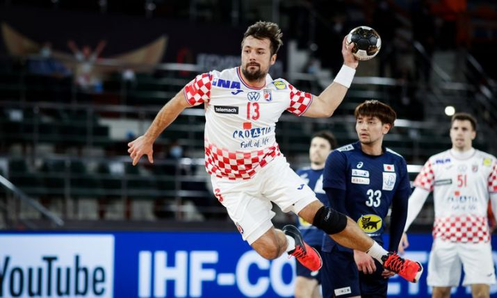World Men's Handball Championship: Croatia start with surprise draw