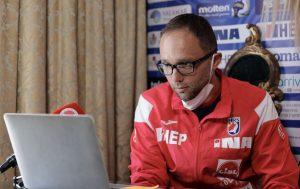 The Croatian men's handball team has a new coach