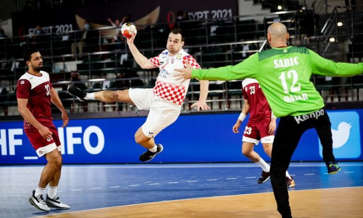 2021 World Men's Handball Championship: Croatia wins group after beating Qatar