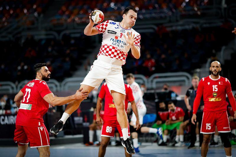 2021 World Men's Handball Championship: Croatia comfortably beat Bahrain