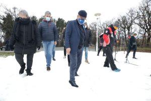 Cmrok: Zagreb's winter sledding park officially opened today