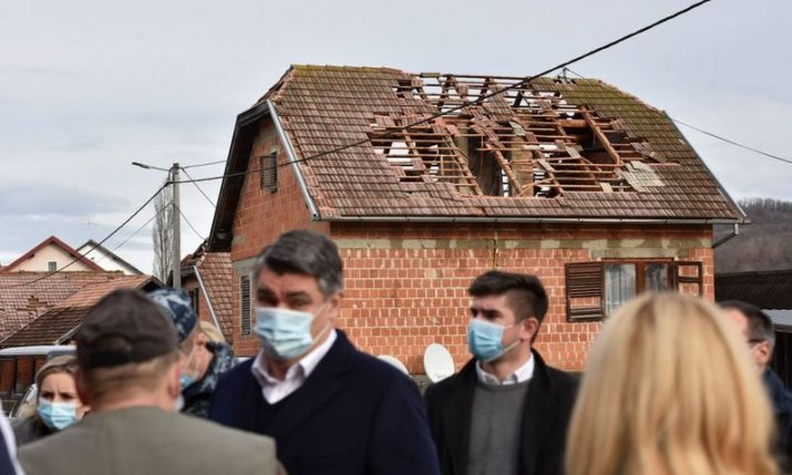 Croatian president calls on gov't to declare state of catastrophic emergency