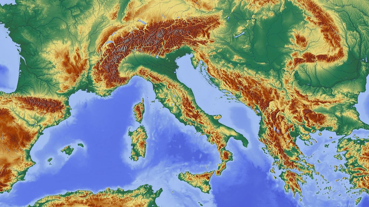 Croatia sits on many geological faults, southern Dalmatia highest risk