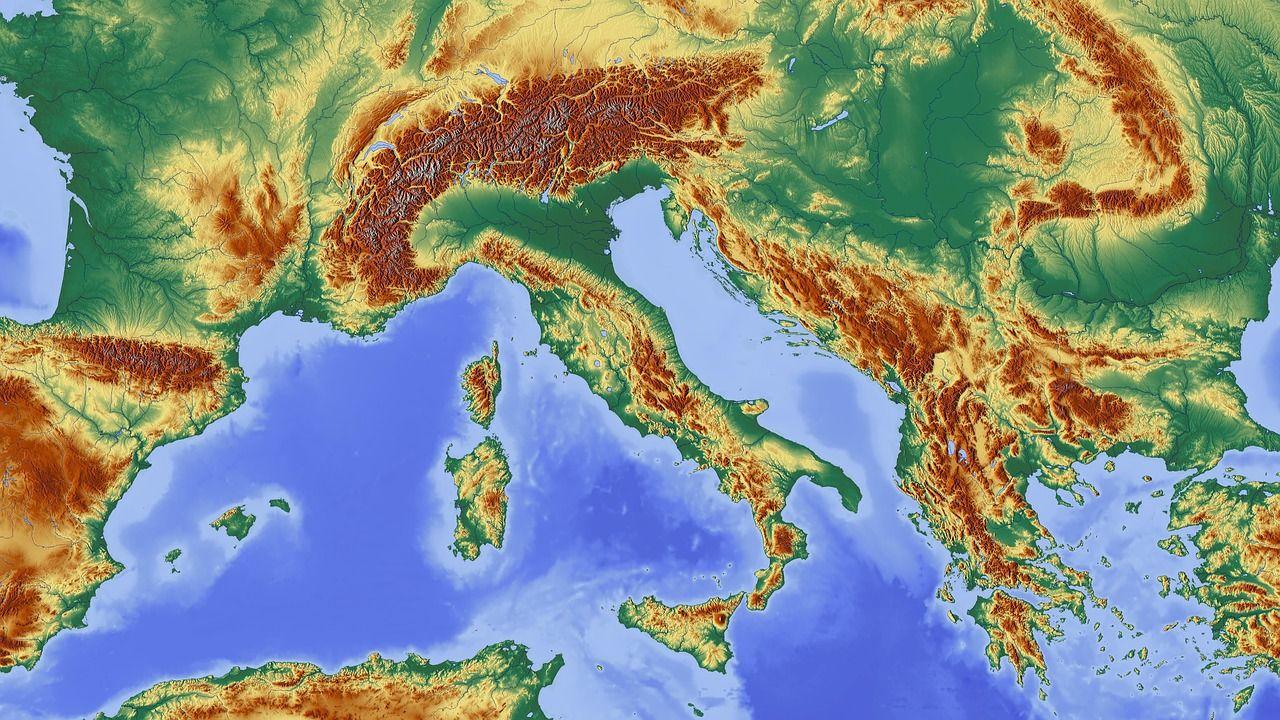 Croatia sits on many geological faults, southern Dalmatia highest risk